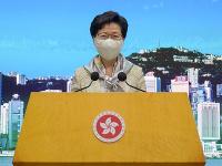 Najvyššia predstaviteľka Hongkongu Carrie Lamová