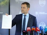 Premiér SR Igor Matovič