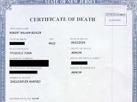 Muž sfalšoval svoj úmrtný list.