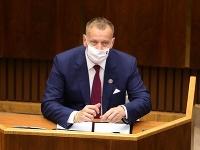 Predseda Národnej rady SR Boris Kollár