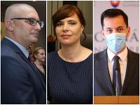 Miroslav Kollár, Veronika Remišová a Juraj Šeliga