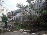 Bratislavskí hasiči zasahujú pri požiari na Rožňavskej ulici v Bratislave