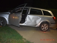 V sobotu v noci sa policajná hliadka pokúšala zastaviť auto idúce cez obec Bátorová, smerom na Nenince.