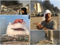 Katastrofický včerajšok v Bejrúte