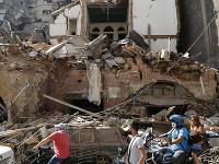 Mesto Bejrút je pod sutinami