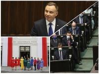 Inaugurácia Andrzeja Dudu v Poľsku.