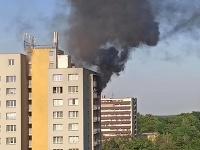 Požiar v Bohumíne