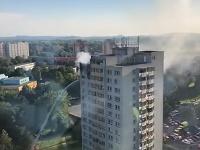 Požiar v českom Bohumíne