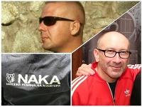 V rukách polície mal skončiť Rastislav Rogel aj Marek Viršík (v červenej mikine).