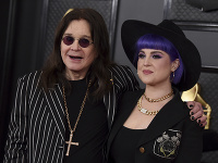 Kelly Osbourne so svojim slávnym otcom.