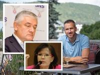 Pavol Slota priznal, že jeho otec nepočúva rady vlastného syna. Anna Belousovová zas nie je nadšená z jeho kandidatúry.