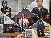 Plagáty či knihy s nacistickou tematikou: Aj to našla polícia počas domových prehliadok.