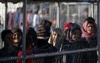 Utečenci na ostrove Chios.