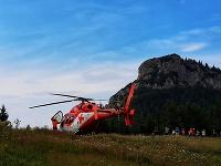 Horskí záchranári zasahovali