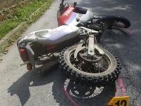 Po náraze do betónového plotu zomrel v Považskej Bystrici 40-ročný motocyklista