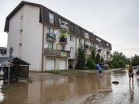 V Senci vytopilo viacero bytoviek