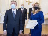 Zuzana Čaputová prijala vo štvrtok trojicu nových veľvyslancov