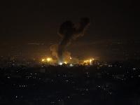 Izrael zasiahla vojenské ciele v palestínskom pásme Gazy
