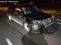 V košickej mestskej časti Šaca došlo k smrteľnej dopravnej nehode.