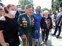 Oslavy 76. výročia SNP v Banskej Bystrici.