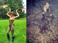 Petra Krchňavá je vášnivou lovkyňou divej zveri.