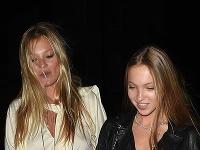 Kate Moss s dcérou Lilou