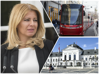 Prezidentka Zuzana Čaputová nahovorila audio nahrávku oznámenia zastávky Hodžovo námestie v bratislavskej MHD.