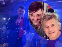 Riaditeľ Senzi TV Noro Meszároš poslal kamarátovi Ottovi Weiterovi do nemocnice video odkaz.