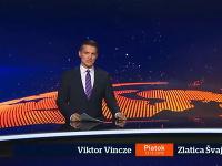 Zlatica Puškárová zostala vymknutá pred štúdiom, Viktor Vincze odmoderoval začiatok Televíznych novín sám.
