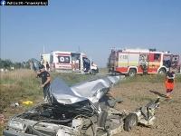 Tragická zrážka vlaku a auta