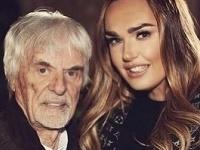 Tamara Ecclestone so svojím otcom Berniem.