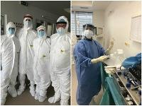 V komárňanskej nemocnici operovali covid pozitívneho pacienta