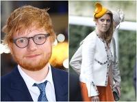 Ed Sheeran a princezná Beatrice