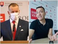 Boris Kollár a Tomáš Drucker