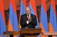 Arménsky prezident Armen Sarkisjan