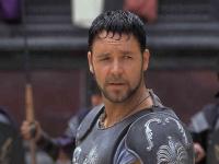 Russell Crowe vo filme Gladiátor.