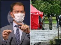 Matovičova vláda chce začať celoplošné testovanie za pomoci armády.