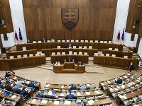 Na snímke 16. schôdza parlamentu v Bratislave v stredu 21. októbra 2020
