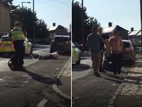 Policajt po potýčke zasiahol ženu taserom.