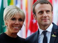 Brigitte Macronová a prezident Emmanuel Macron