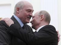 Alexander Lukašenko a Vladimir Putin