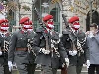 Ceremónia vo Viedni počas štátneho sviatku