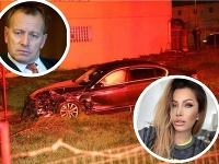 Miroslava Fabušová robila v osudný moment predsedovi parlamentu Borisovi Kollárovi spoločnosť.
