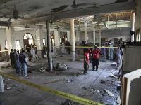 Výbuch bomby si vyžiadal najmenej štyri obete