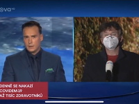 Český moderátor Petr Suchoň si v pondelkovom vysielaní Televíznych novín poriadne zavaril.