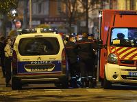 Francúzska polícia na mieste činu