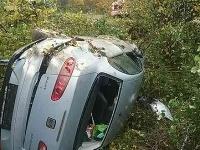 Dopravná nehoda v Brezovej pod Bradlom