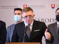 Predseda Smeru-SD Robert Fico