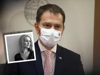 Matovičova sestra opäť kritizuje vládu, tentokrát kvôli situácii na Ukrajine.