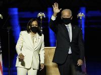 Kamala Harrisová a Joe Biden